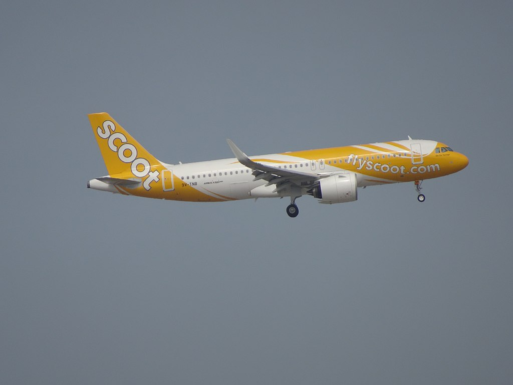 Scoot Airlines Fleet Airbus A320neo Details and Pictures
