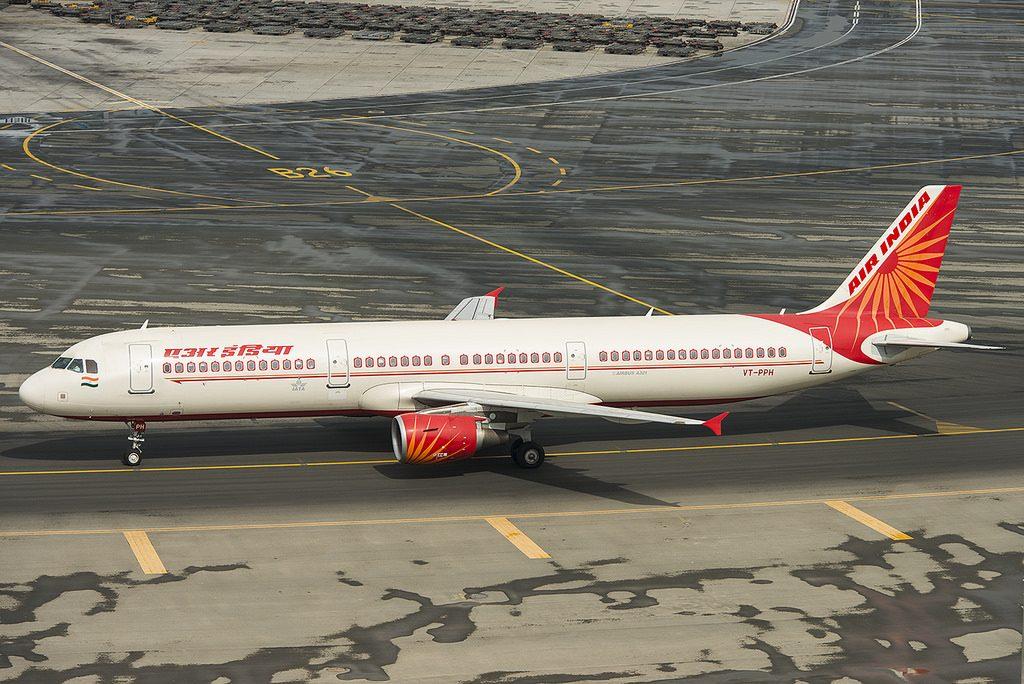 Airbus A321 211 Air India VT PPH at Dubai Airport