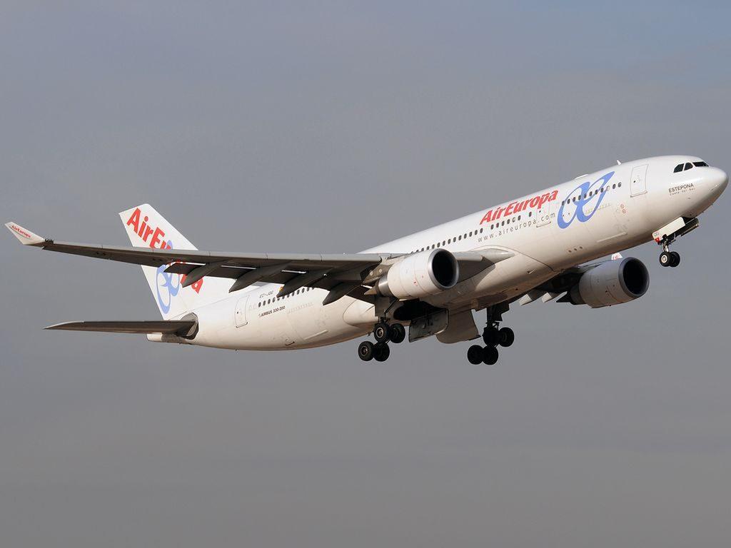 Airbus A330 202 Air Europa EC JQG Ángel Nieto at Madrid Barajas Airport
