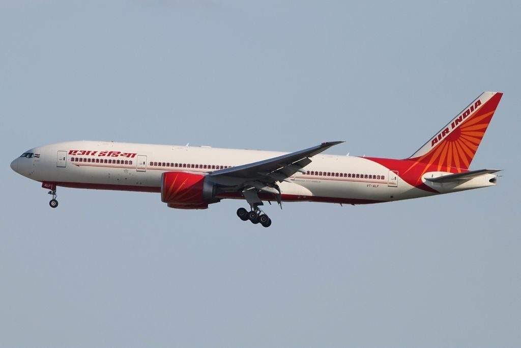 Boeing 777 237LR Air India VT ALF Jharkhand at Frankfurt Airport