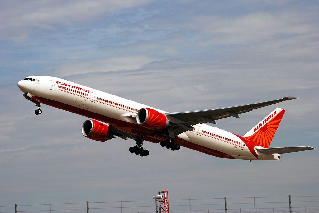 Boeing 777 337ER Air India VT ALM Rajasthan at London Heathrow Airport