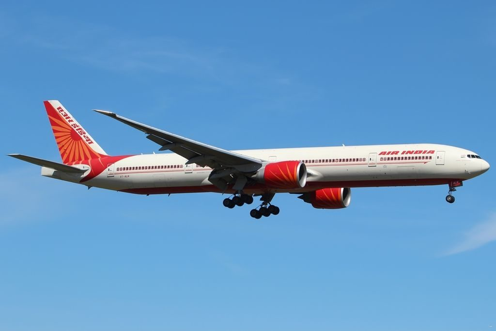 Boeing 777 337ER Air India VT ALN Jammu and Kashmir at Heathrow Airport