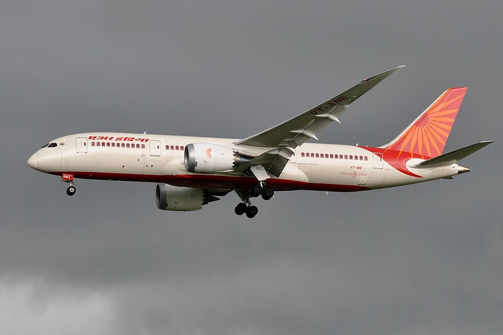 Boeing 787 8 Dreamliner VT ANE Air India at Paris Charles de Gaulle Airport