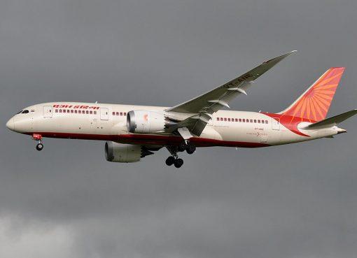 Boeing 787 8 Dreamliner VT ANE Air India at Paris Charles de Gaulle Airport