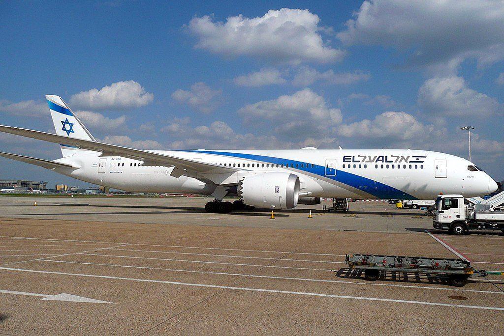 Boeing 787 9 Dreamliner EL AL 4X EDD Haifa at London Heathrow Airport