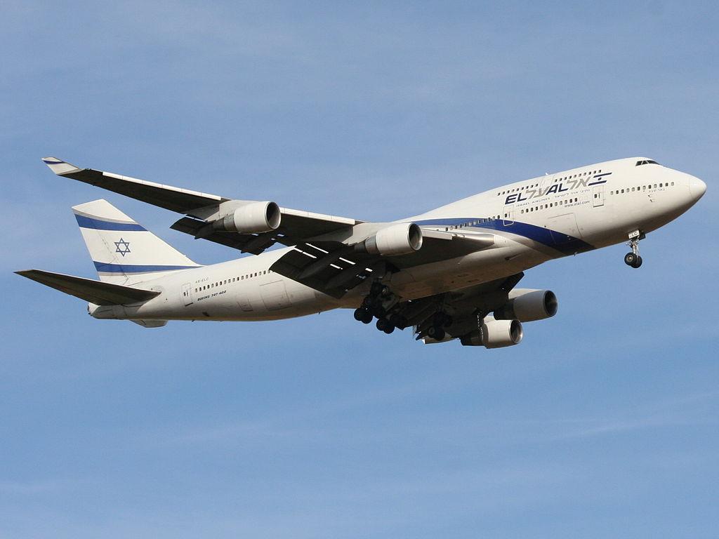 EL AL Boeing 747 458 4X ELC Beer Sheva at Ben Gurion International Airport
