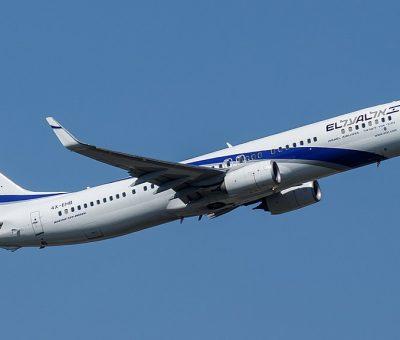 El Al Israel Airlines Boeing 737 900ER 4X EHB at Frankfurt Airport