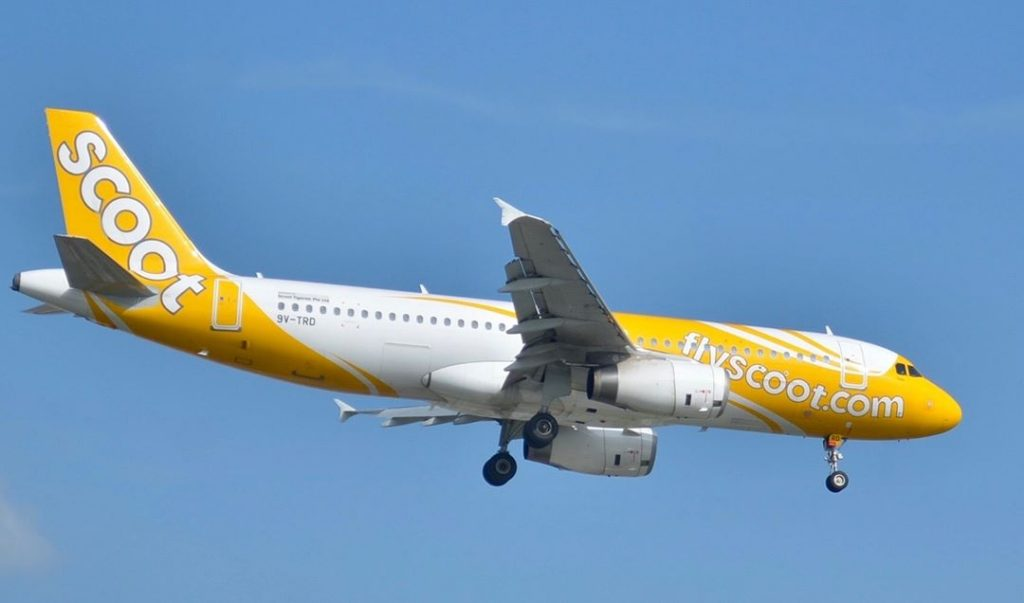 Felix 9V TRD Airbus A320 232 Scoot Airlines