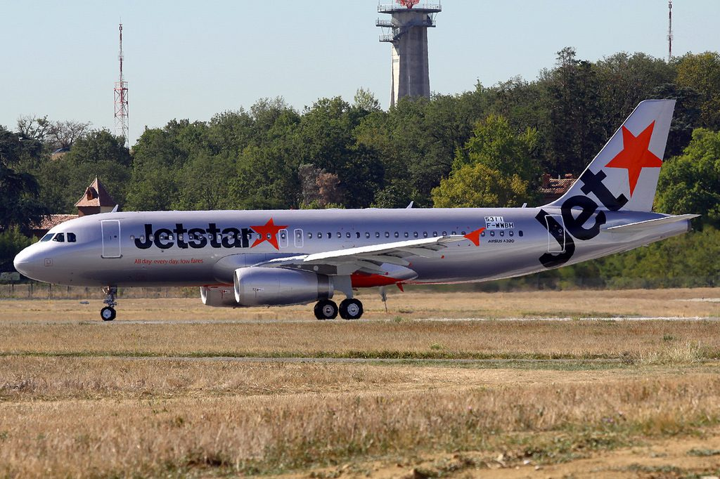 Jetstar Airways Airbus A320 232 F WWBH VH VFJ at Toulouse Blagnac