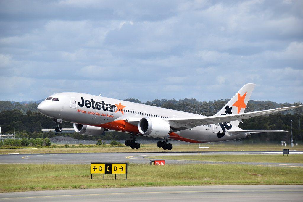 Jetstar Airways Boeing 787 8 Dreamliner VH VKE at Coolangatta Airport Queensland