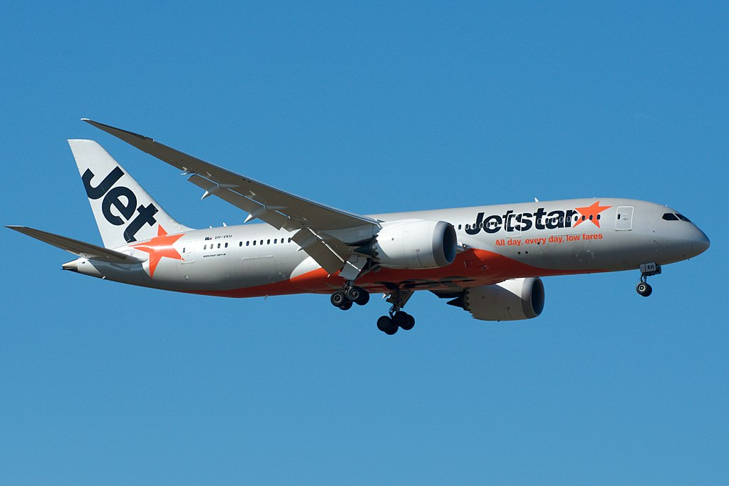 Jetstar Australia Boeing 787 8 Dreamliner VH VKH at Melbourne Airport