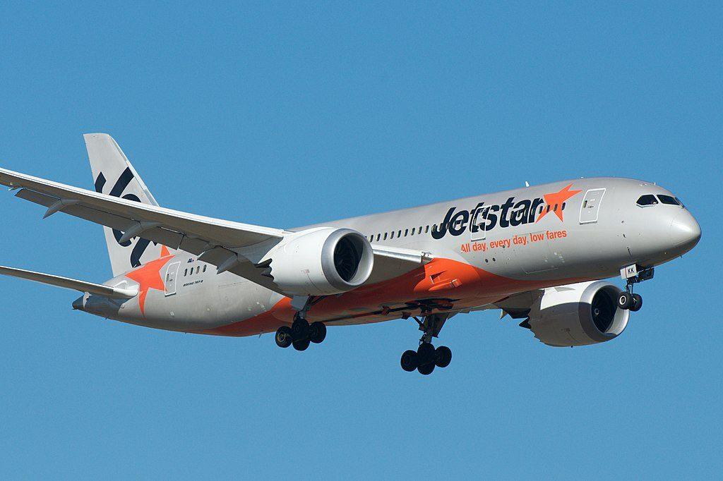 Jetstar Australia Boeing 787 8 Dreamliner VH VKK at Melbourne Airport