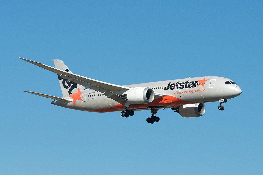 Jetstar Boeing 787 8 Dreamliner VH VKA at Melbourne Airport