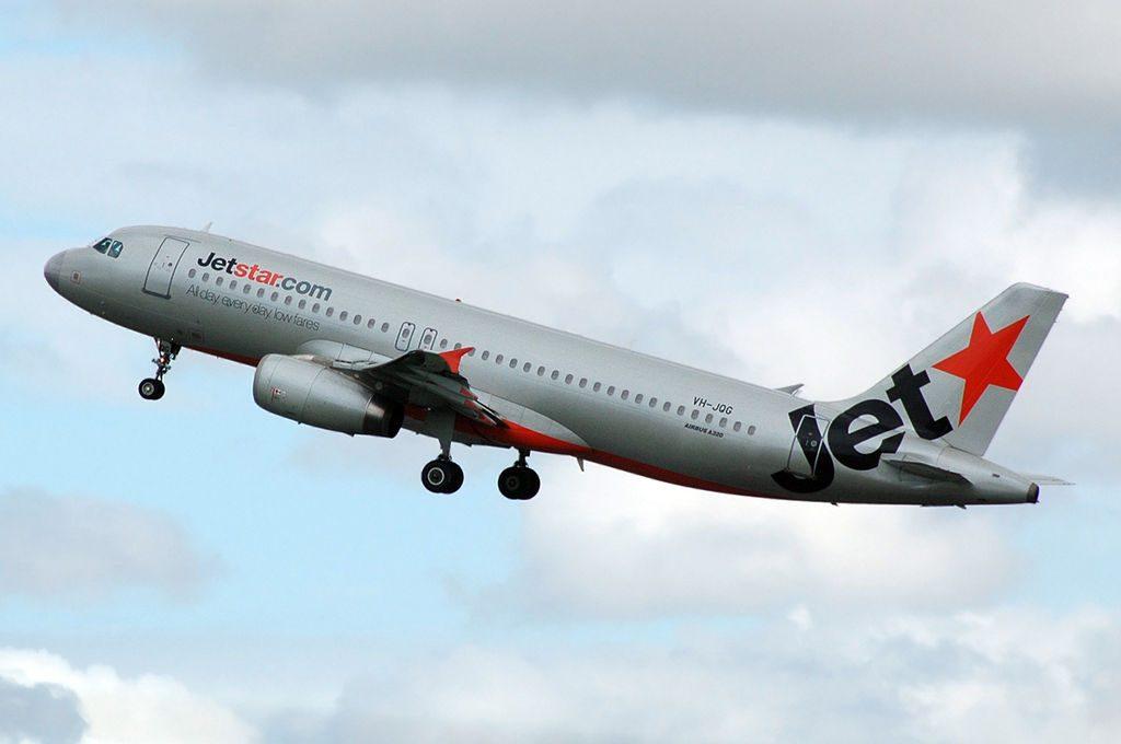 Jetstar VH JQG Airbus A320 232 at Brisbane Airport