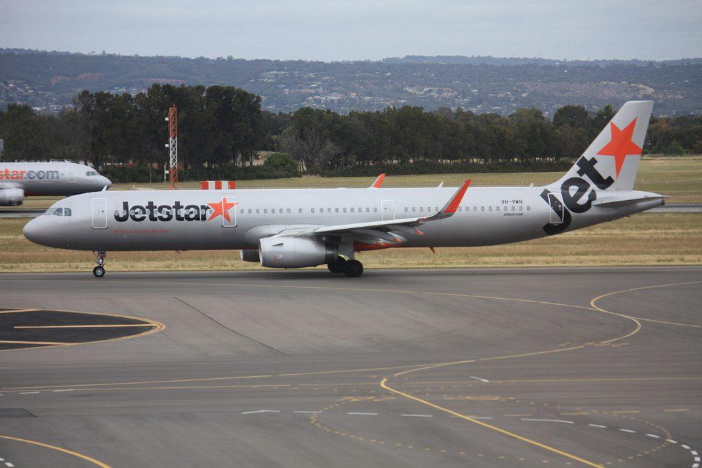 Jetstar VH VWN Airbus A321 231WL
