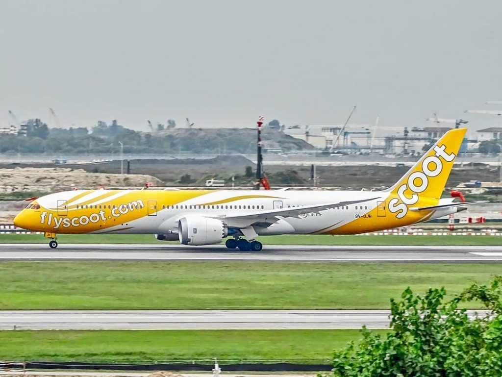 Scoot Airlines 9V OJH Boeing 787 9 Dreamliner Fernweh Aicraft Photos