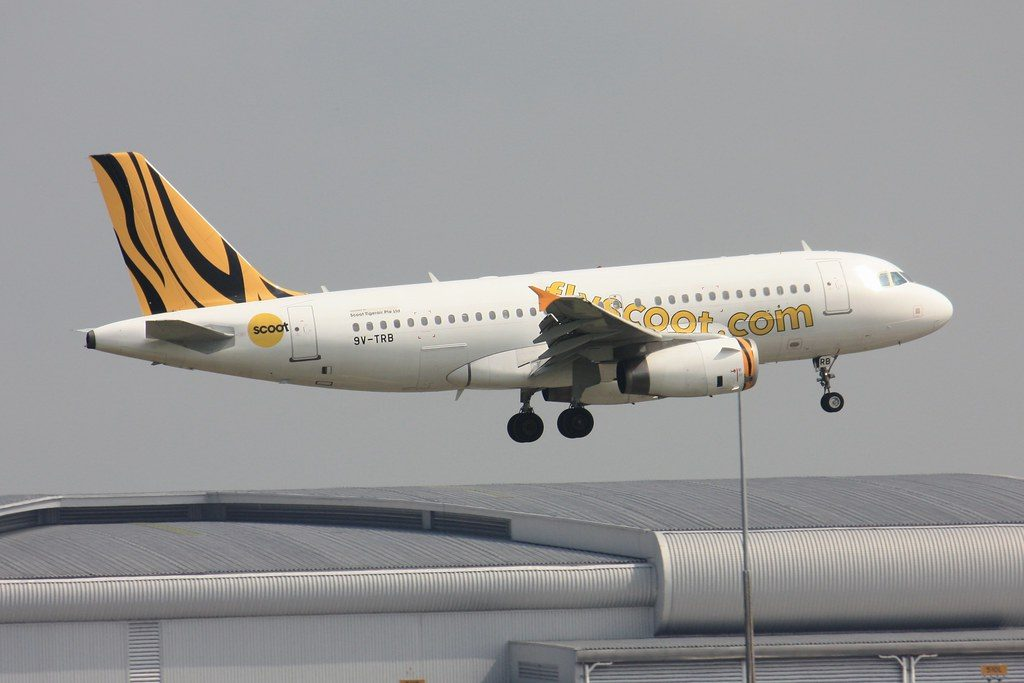 Scoot Airlines Airbus A319 132 9V TRB