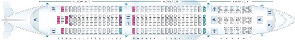 Seat Map and Seating Chart Airbus A330 300 Air Europa