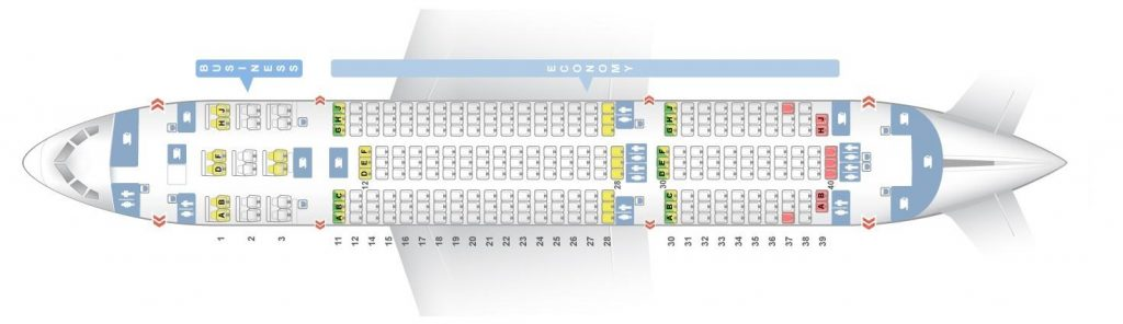 Seat Map and Seating Chart Boeing 787 8 Dreamliner Air India