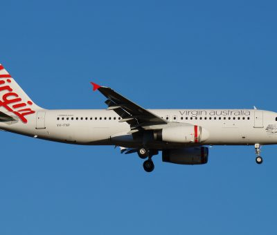 VH FNP Virgin Australia Airbus A320 231 Honeymoon Cove at Perth Airport