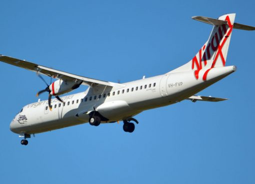 VH FVP Wategos Beach ATR 72 600 Virgin Australia Skywest Airlines at Brisbane Airport