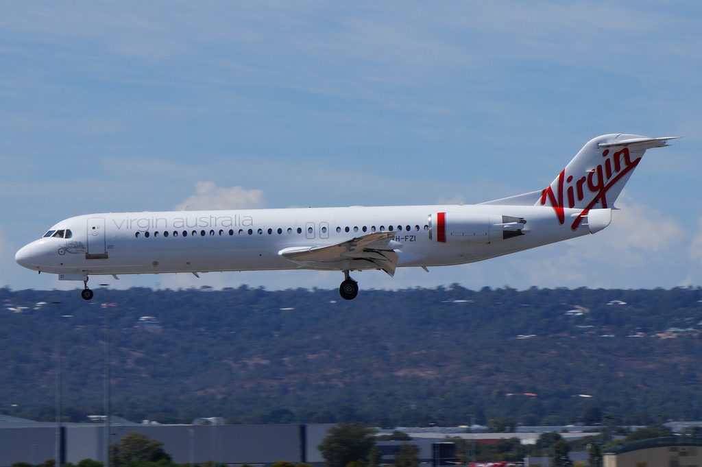 VH FZI Virgin Australia Regional Fokker 100 Pictures
