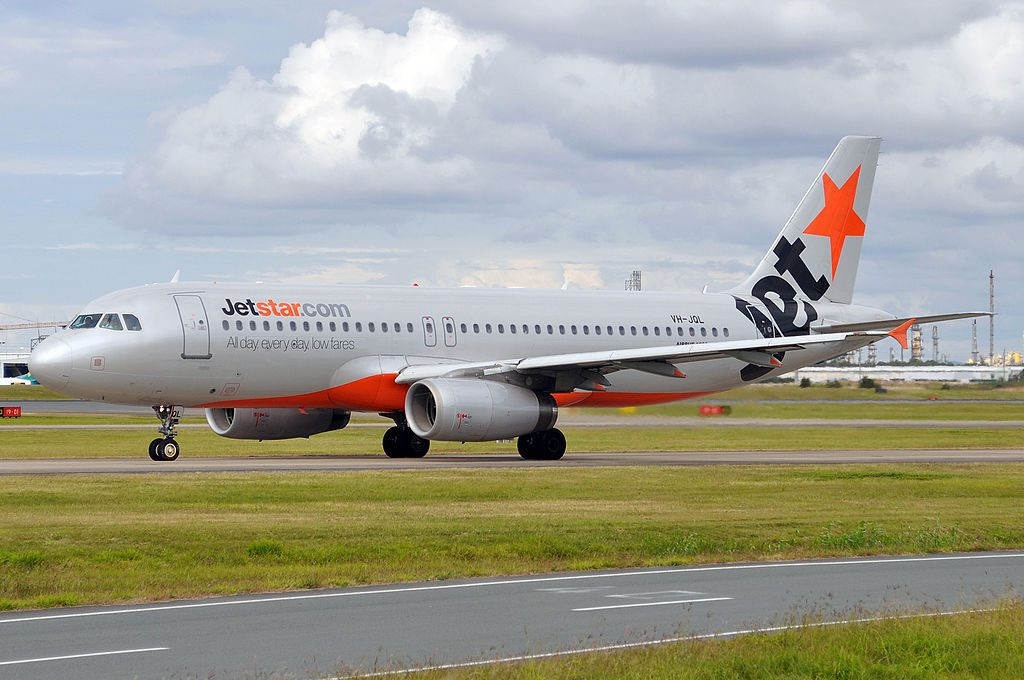 VH JQL Airbus A320 232 Jetstar Airways at Brisbane Airport