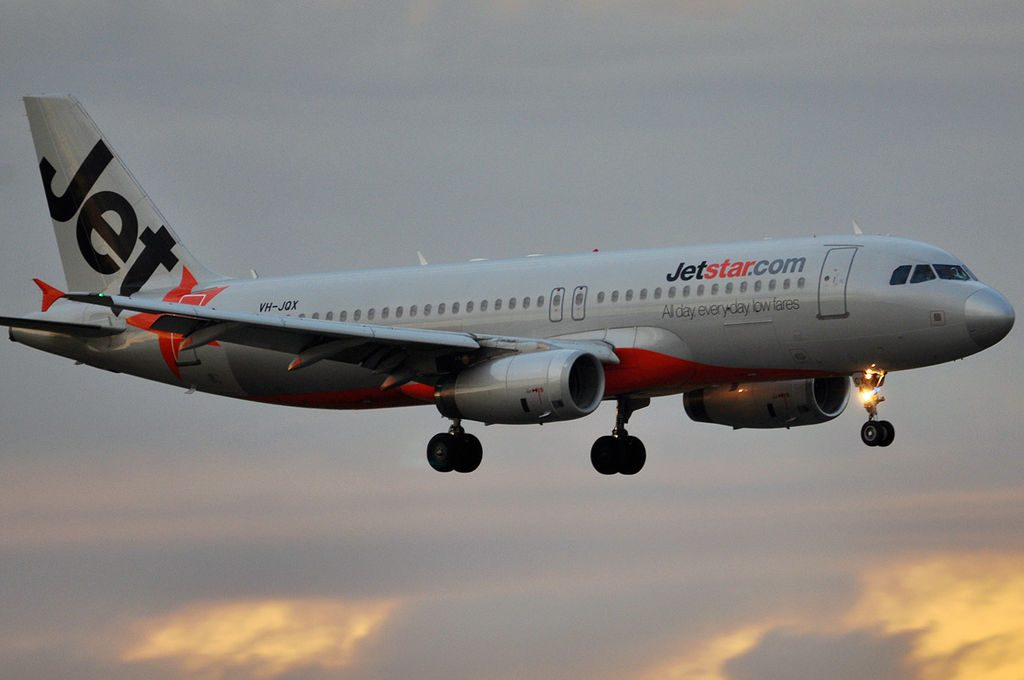 VH JQX Airbus A320 232 Jetstar Airways at Brisbane International Airport