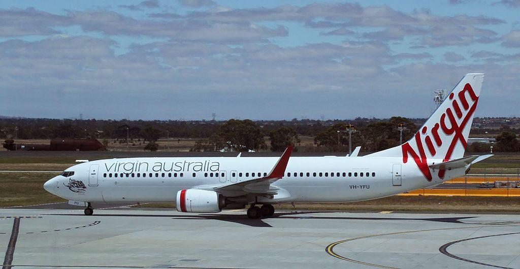 VH YFU Boeing 737 8FEWL Emu Bay Virgin Australia at Melbourne Airport