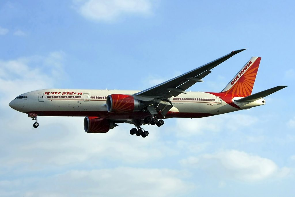 VT ALH Boeing 777 237LR Air India Maharashtra at London Heathrow