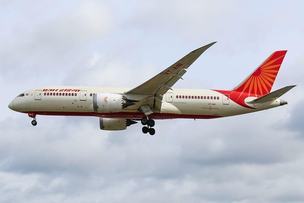 VT ANI Boeing 787 8 Dreamliner Air India at London Heathrow Airport