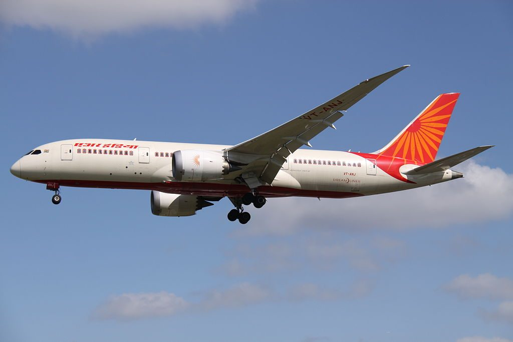VT ANJ Boeing 787 8 Dreamliner of Air India at London Heathrow Airport