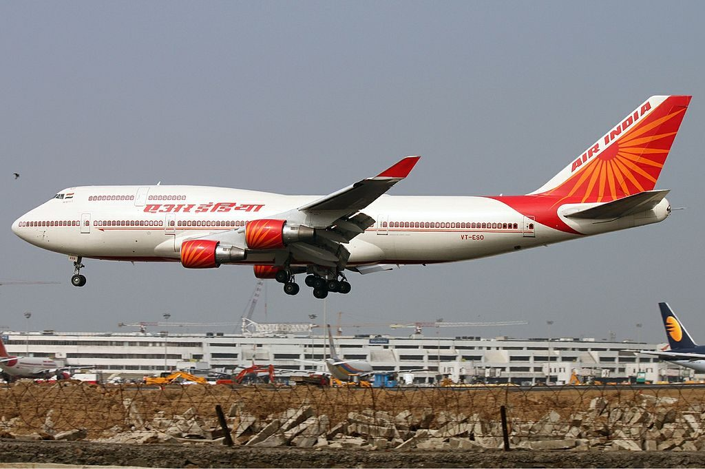 VT ESO Air India Boeing 747 437 Khajuraho at Mumbai Chhatrapati Shivaji International