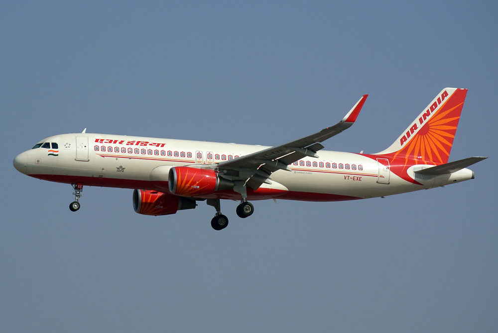 VT EXE Air India Airbus A320 214WL at Delhi Indira Gandhi Aiport