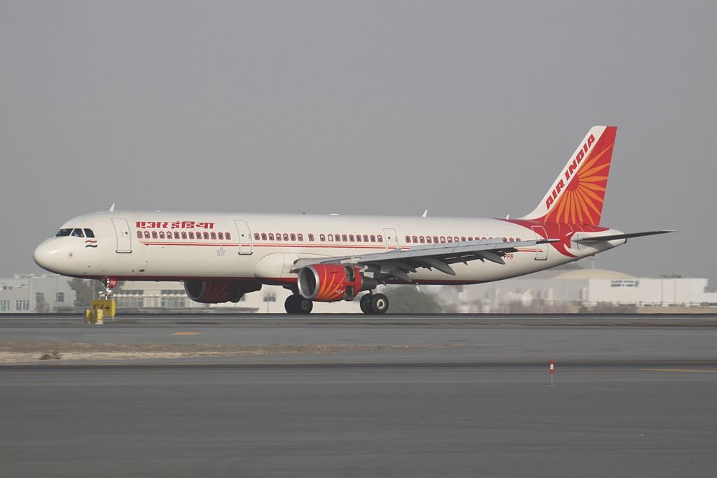 VT PPB Airbus A321 211 Air India at Dubai International Airport