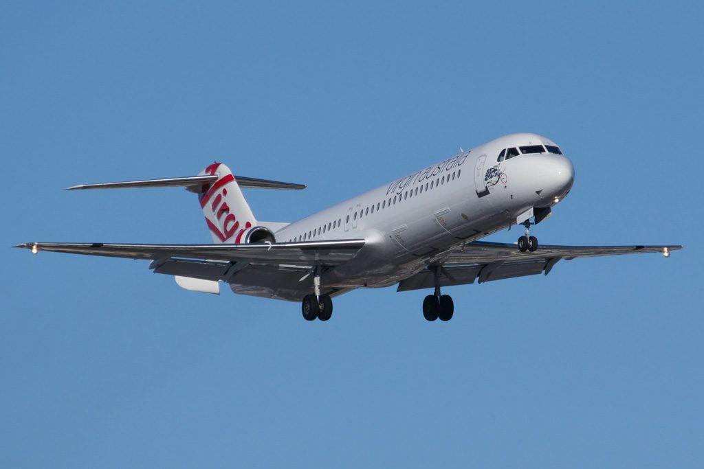 Virgin Australia Regional VH FNY Fokker F100
