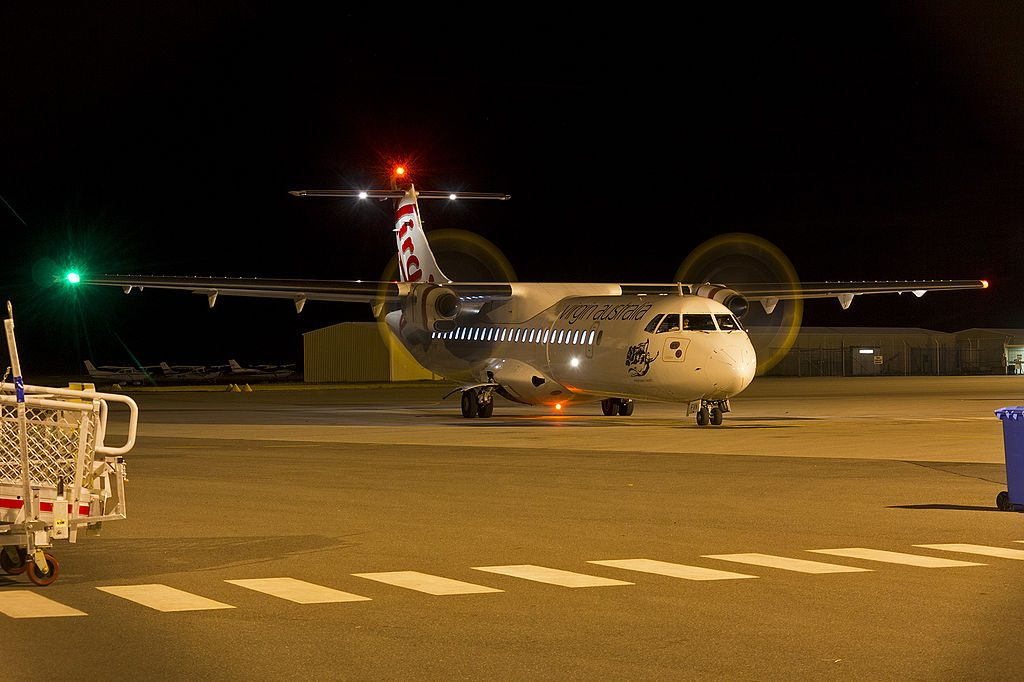 Virgin Australia Regional VH FVN ATR 72 600 Whitehaven Beach at Wagga Wagga Airport