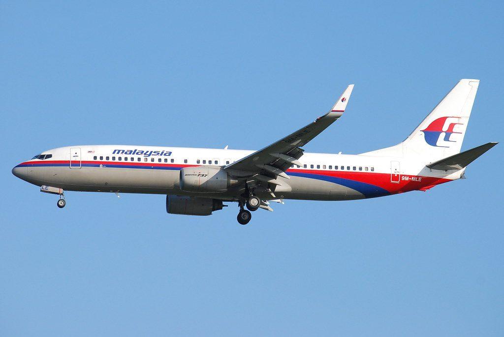 9M MLE Malaysia Airlines Boeing 737 8FH at Bangkok Suvarnabhumi