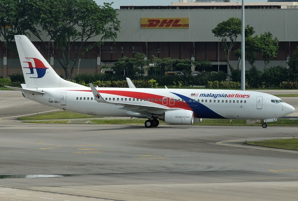 9M MLI Boeing 737 8FZWL Malaysia Airlines at Singapore Changi Airport