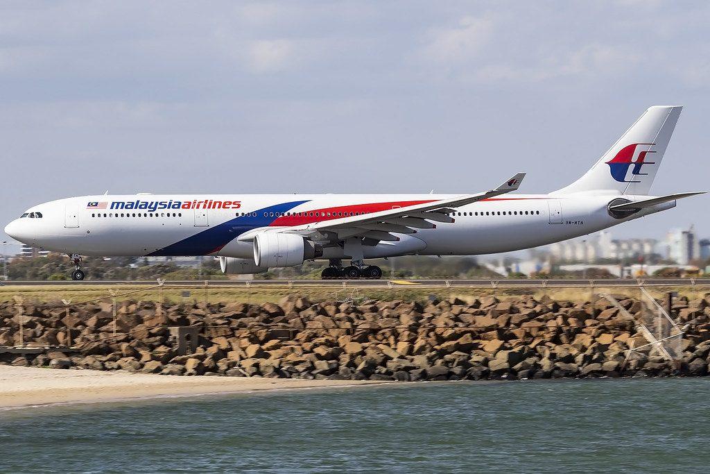 9M MTN Malaysia Airlines Airbus A330 323 at Ngurah Rai Denpasar Bali
