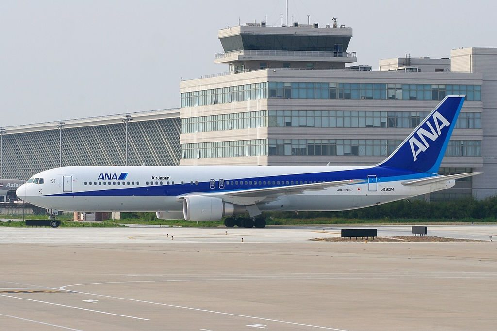 ANA All Nippon Airways Air Japan JA612A Boeing 767 300ER