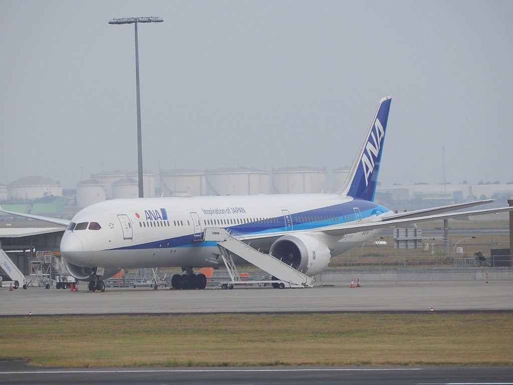 ANA All Nippon Airways Boeing 787 9 Dreamliner JA871A at Sydney Airport
