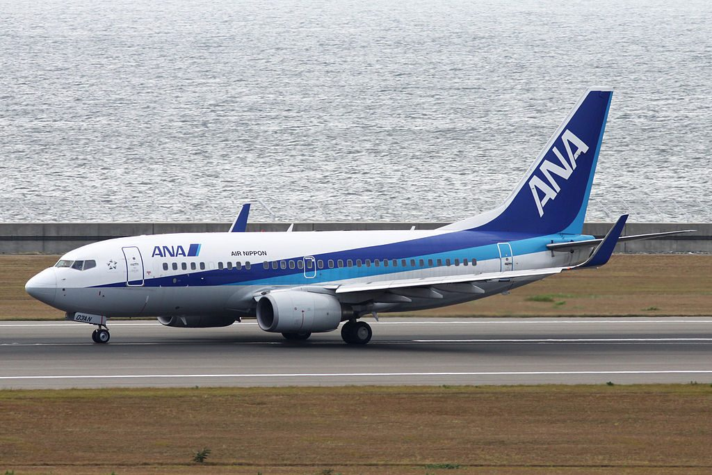 ANA All Nippon Airways Boeing B737 781WL JA03AN at Chubu International Airport