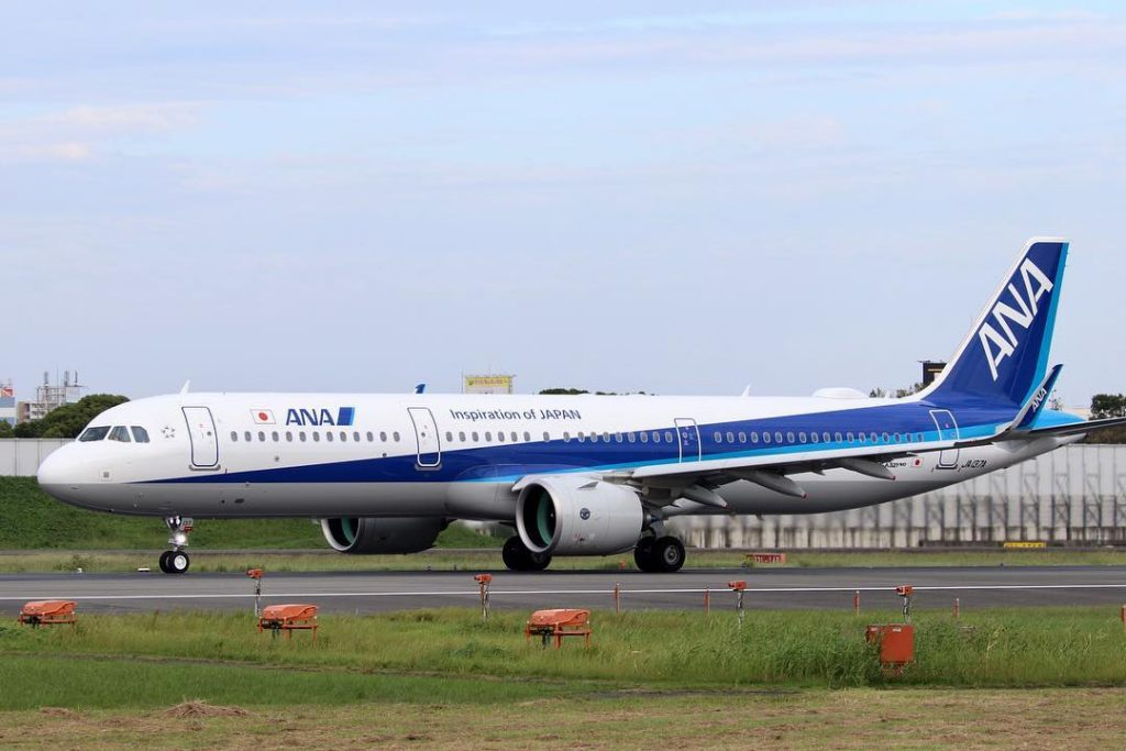 ANA All Nippon Airways JA137A Airbus A321 272N