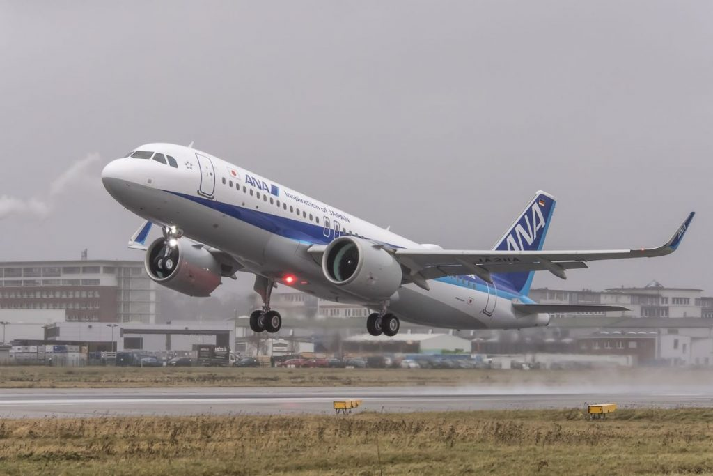 ANA All Nippon Airways JA218A Airbus A320neo