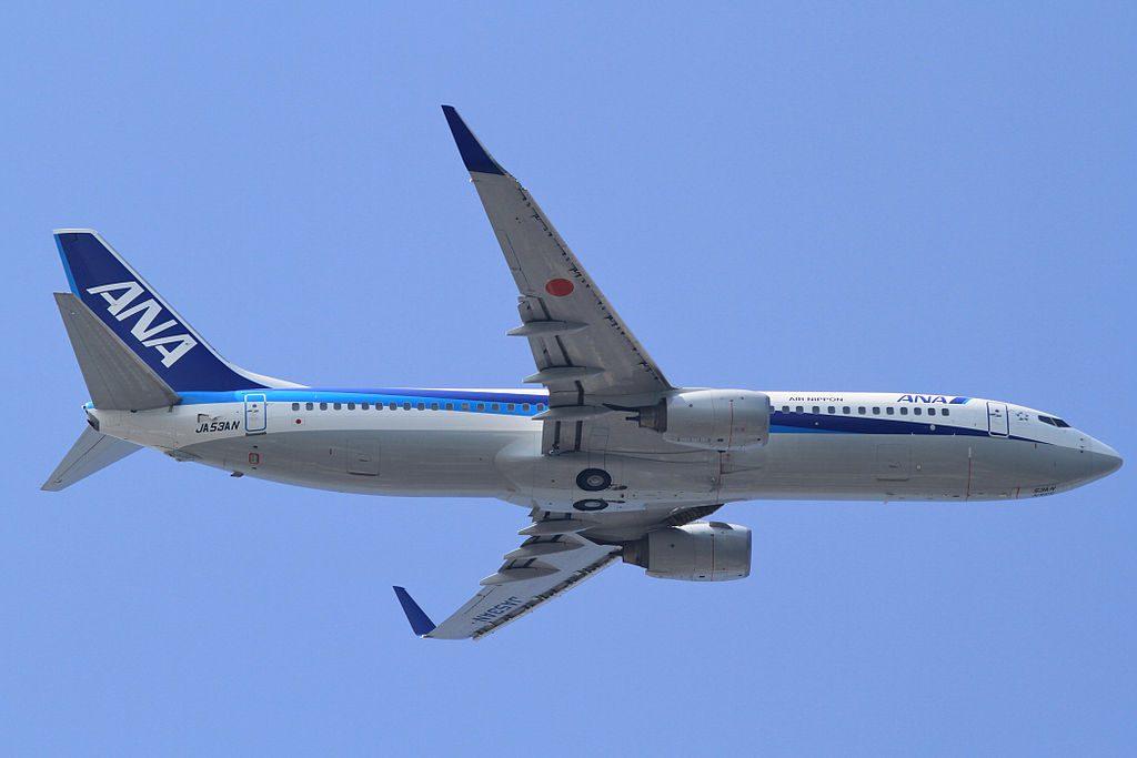 ANA Boeing 737 881WL JA53AN at Tokyo International Airport