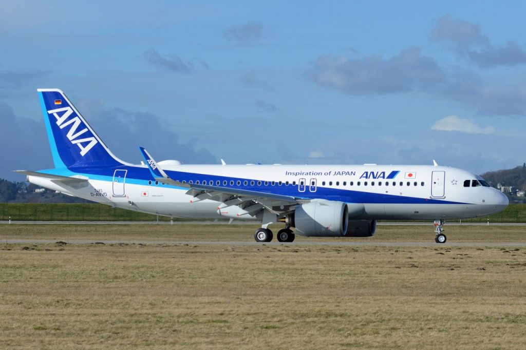 Airbus A320 271N All Nippon Airways ANA JA212A MSN 7483
