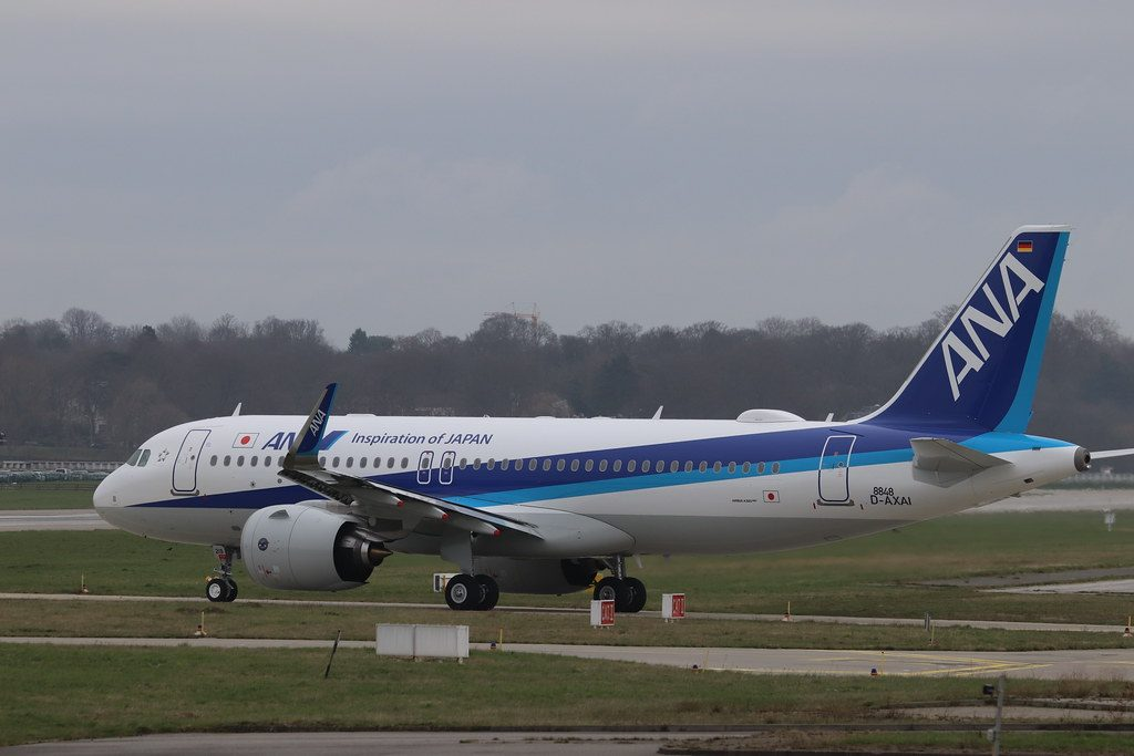 Airbus A320neo ANA All Nippon Airways JA219A