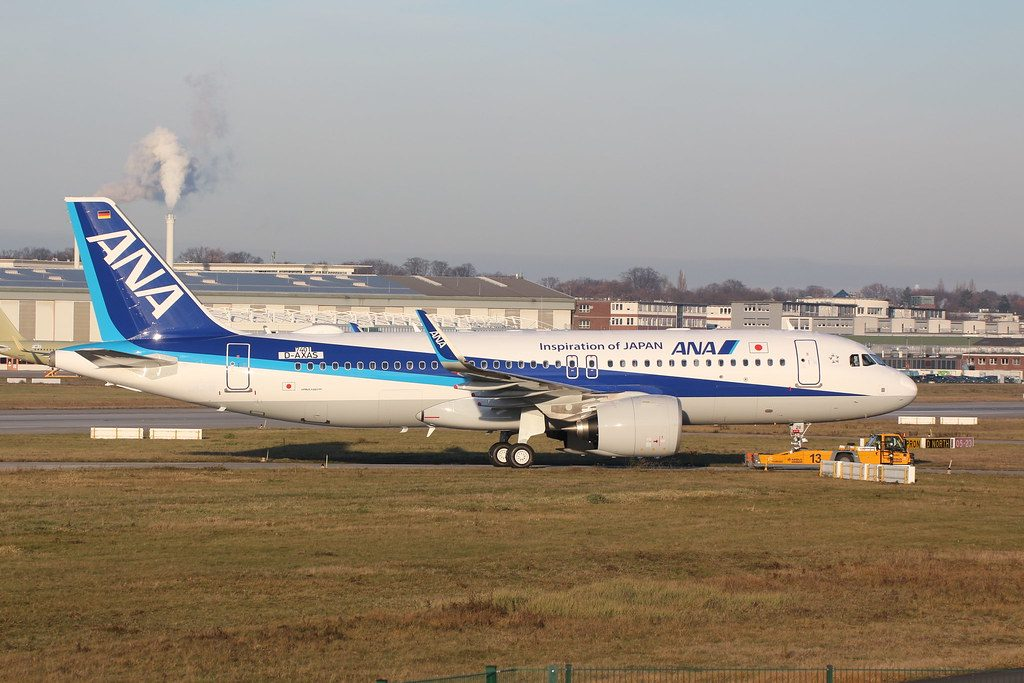 Airbus A320neo All Nippon Airways ANA JA211A