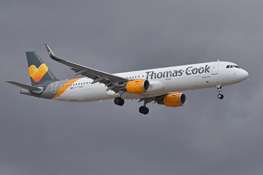 Airbus A321 211 G TCDC Thomas Cook Airlines at Tenerife South Airport